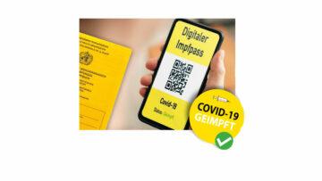 Holen Sie sich Ihren digitalen Impfnachweis auf's Smartphone
